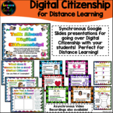 Let's Talk About Digital Citizenship | Distance Learning |