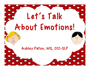 Let's Talk About Emotions