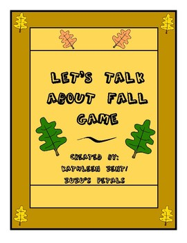 Let's Talk About Fall Game