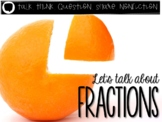 Let's Talk About Fractions: Interactive Read-Aloud PowerPoint
