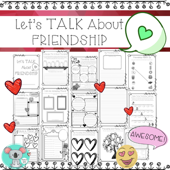 Let's Talk About Friendship Booklet
