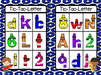 Let's Talk About Letters! Emergent Reader Book AND Interactive Activities