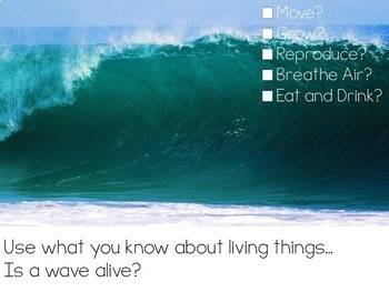 Let's Talk About Living & Nonliving Things: Interactive Read-Aloud PowerPoint