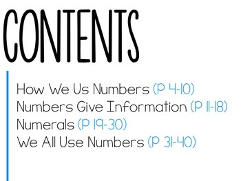 Let's Talk About Numbers: Interactive Read-Aloud PowerPoint