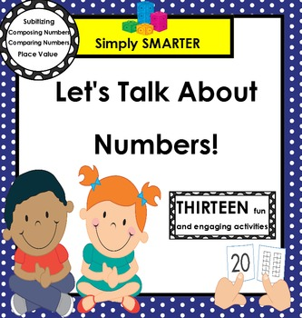 Let's Talk About Numbers!:  SMARTBOARD Math Talks