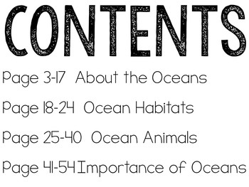Let's Talk About Oceans: Interactive Read-Aloud PowerPoint