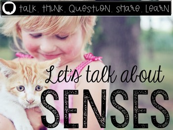 Let's Talk About Our Five Senses: Interactive Read-Aloud PowerPoint