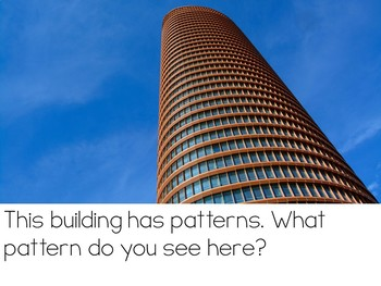 Let's Talk About Patterns: Interactive Read-Aloud PowerPoint