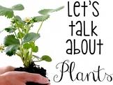 Let's Talk About Plants: Interactive Read-Aloud PowerPoint