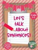 Let's Talk About Sentences!