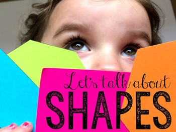 Let's Talk About Shapes: Interactive Read-Aloud PowerPoint