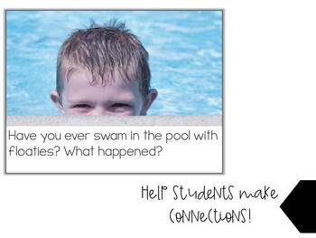 Let's Talk About Sink and Float: Interactive Read-Aloud PowerPoint