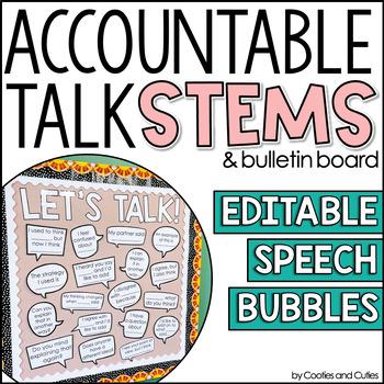Accountable Talk   Accountable Talk Stems   Accountable Talk Posters