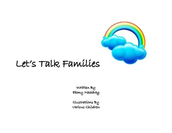 Let's Talk Families Coloring Book