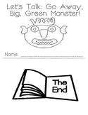Let's Talk: Go Away, Big Green Monster! Vocabulary Building Activity