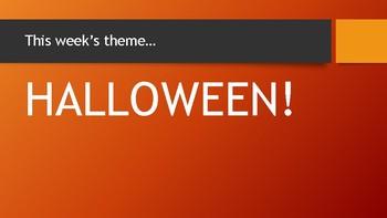 Let's Talk Halloween