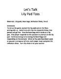 Let's Talk Lily Pad Toss
