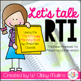 Let's Talk RTI: An Explanation of Response to Intervention