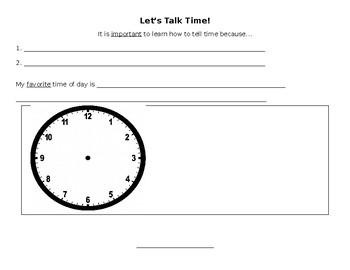 Let's Talk Time!