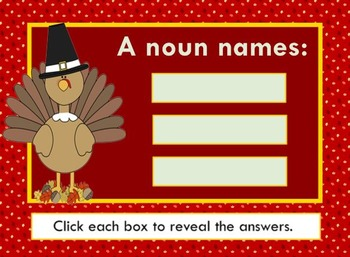 Let's Talk Turkey About Nouns and Pronouns