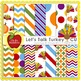 Let's Talk Turkey Digital Papers {Papers for Commercial Use}