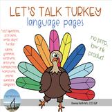 Let's Talk Turkey - Language Pages