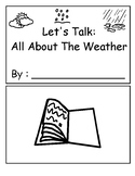 Let's Talk Weather: All About Weather Vocabulary