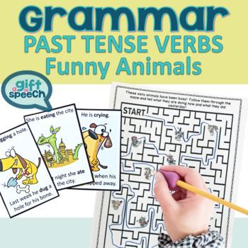 Let's Talk about Past Tense Verbs Activities Past tense irregular and regular