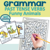 Let's Talk about Past Tense Verbs Activities #slpmusthave