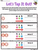 Let's Tap it out! Phonemic Awareness Worksheet