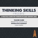 Let's Teach Thinking Skills Freebie
