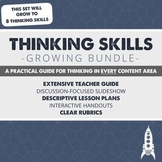 Let's Teach Thinking Skills - Growing Bundle
