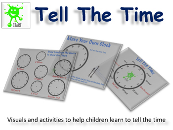 Math Teaching Resource - Let's Tell Time