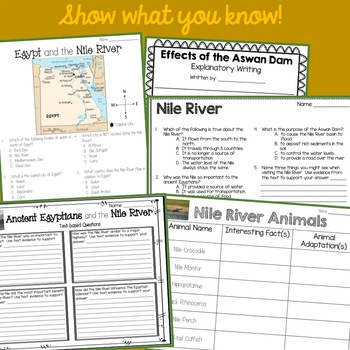 Let's Travel to the Nile River!