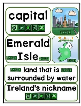 Let's Visit Ireland Multi-level Reading Passage