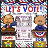 Election Day 2020! Let's Vote! Classroom Voting Activities for Little Learners