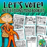 Let's Vote!  {New Zealand Election Mini booklet}