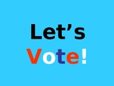 Let's Vote PowerPoint