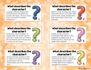 Let's Write About Characters! Narrative Writing Series Set 2