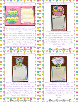 Let's Write About Easter! Craftivities and Writing