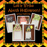 Let's Write About Halloween! Writing Craftivities