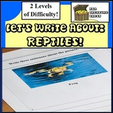 Let's Write About..Reptiles & Amphibians- Autism, ABA, Reluctant Writers