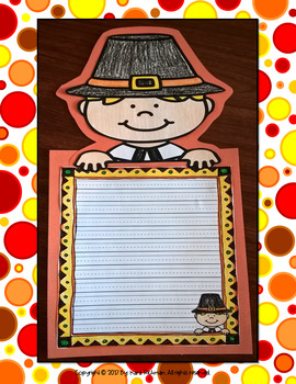 Let's Write About Thanksgiving! Writing Templates and Craftivities
