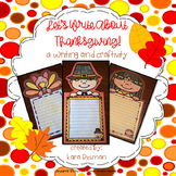 Let's Write About Thanksgiving! Writing Templates and Craf