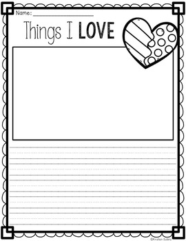 Let's Write About Valentine's Day