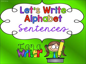 Let's Write Alphabet Sentences