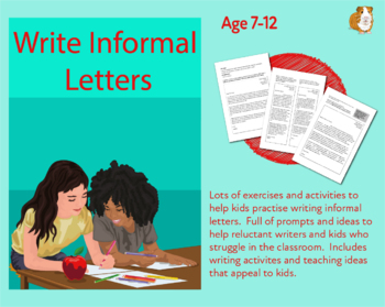 Let's Write An Informal Letter (7-11 years)