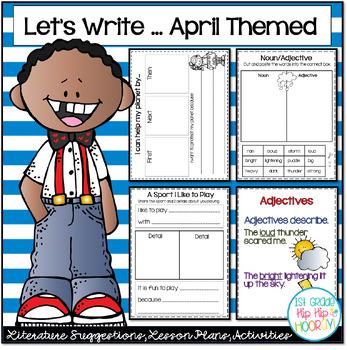 Let's Write...April...ELA CCSS
