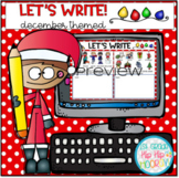 Let's Write...December...Distance Learning