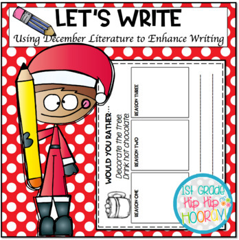 Let's Write...December...ELA CCSS